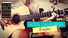 Hotel California Easy Facile Acoustic Guitar Cover