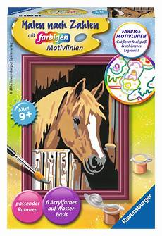 Malen Nach Zahlen Ausmalen Ravensburger Ravensburger Malen Nach Zahlen Classic Serie F Pferd Im