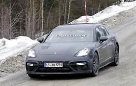 Electrified 2018 Porsche Panamera Sport Turismo Spied