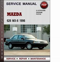 download car manuals pdf free 1988 mazda mx 6 instrument cluster mazda 626 mx 6 1996 factory service repair manual download pdf do