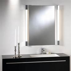 spiegelleuchten bad design moderne kubische bad spiegelleuchte in edlem design