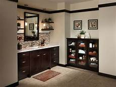 Bathroom Ideas Brown Cabinets by Bathroom Brown Bathroom Sink Cabinets With White