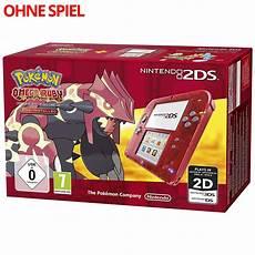 nintendo 2ds konsole omega rubin edition