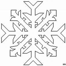 Schneeflocken Window Color Malvorlagen Schneeflocke Schematisch 2 Ausmalbild Malvorlage