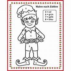 Weihnachten Ausmalbild Zahlen Kindersuppe Kindergarten Und Kita Ideen