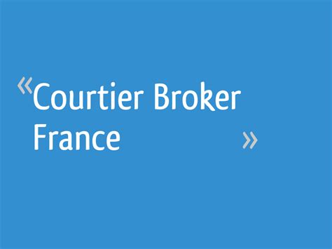 Broker France