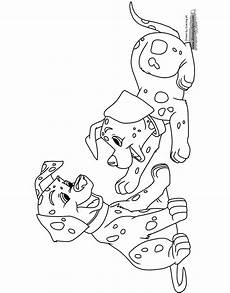 101 dalmatians coloring pages 2 disneyclips com