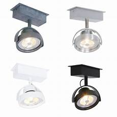 led deckenspot led deckenspot im industrie style 1 flammig in 4 farben