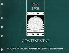 electric and cars manual 1994 lincoln continental on board diagnostic system 1998 lincoln continental electrical and troubleshooting manual