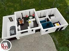 plan d intérieur de maison crescendo plan maison 3d