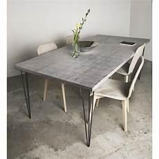 tischplatte betonoptik sun wood betontisch designtisch in hochwertiger