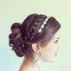 updo with braid and headband fitzgerald portfolio