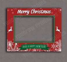printable christmas photo booth frame digital download prop selfie holiday