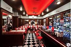 American Diner Einrichtung - banco retro diner americano doble 3 plazas