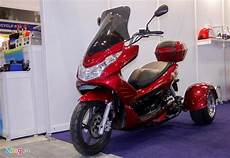 Modifikasi Motor Bebek Jadi Roda Tiga by Ajib Keren Nich Modifikasi Pcx Roda Tiga Pakai Penggerak