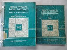 service and repair manuals 1991 ford f series seat position control 1991 ford bronco econoline f series f super duty service shop repair manual set ebay
