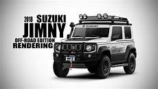 2018 Suzuki Jimny Road Edition Rendering