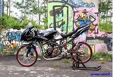 Sepeda Motor Modifikasi by Trik Modifikasi Kawasaki Jadi Motor Drag Info