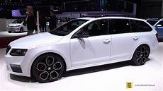 2016 Skoda Octavia Rs Combi 2 0 Tdi Exterior And