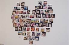 shaped photo collage stripes