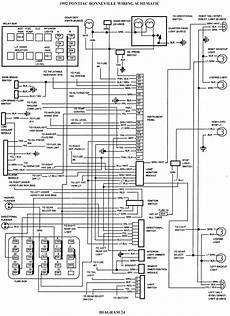1992 Pontiac Bonneville Wiring Schematic Schematic