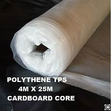 clear builders polythene plastic sheeting roll tps 25m 4m quick delivery ebay