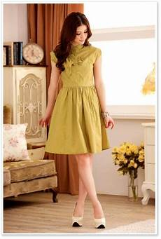 Gambar Gambar Baju Dress Trend Masa Kini Korean Style