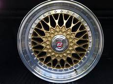 3 finn bbs rs replica calibre vintage gold retro 4x100