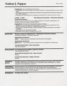 resume page two header resume format 2 page resume format header needed