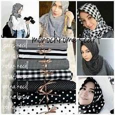 Kumpulan Motif Jilbab Terbaru Segiempat Dan Pashmina