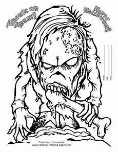 coloring pages free printable scary coloring home