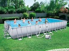 piscine tubulaire rectangulaire hors sol socotra de bestway