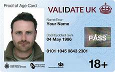 uk id card template official uk id card photo id proof of age card