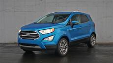 2018 ford ecosport platinum review how did this tiny