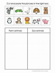zoo animal worksheets kindergarten 14321 2017 10 bondeg 229 rdsdyr eller zoologisk dyr vzděl 225 v 225 n 237 školka zoo