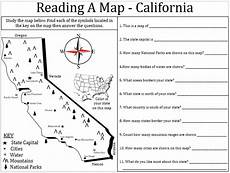 map reading worksheets grade 1 11626 empowered by them california map lesson numeracy social studies map
