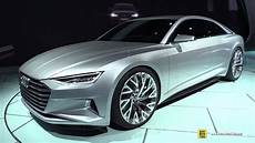 2016 Audi A9 Prologue Concept Exterior Walkaround 2014
