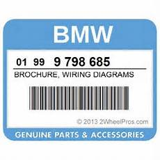 01999798685 bmw brochure wiring diagrams for k100rs k1 k1100lt 2wheelpros