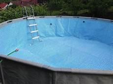 pooluntergrund f 252 r einen aufstellpool sand betonplatte