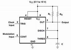 How To Use Ic 555 For Generating Pwm Outputs Circuit