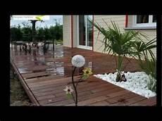 Terrasse Contemporaine En Bois Exotique