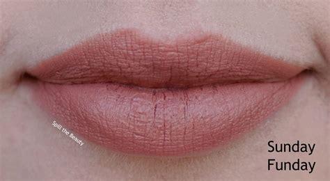 Too Faced Lipstick Sunday Funday
