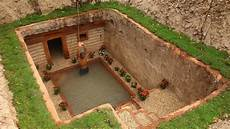 Dig To Build Most Awesome Underground House And