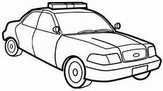 Ausmalbilder Polizeiauto Car Coloring Pages Sketch Coloring Page