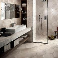 Bathroom Ideas Hexagon Tile by 30 Great Bathroom Tile Ideas Bathrooms Hexagon Tile
