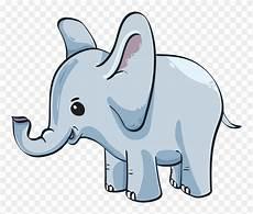 Baby Elephant Gambar Anak Gajah Kartun Clipart