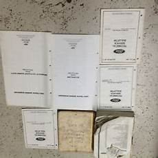 service and repair manuals 1991 ford f series seat position control 1990 oem ford f 150 f150 f series bronco diesel service shop repair manual set ebay