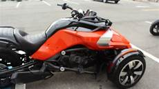 can am trike sold 2015 can am spyder f3 trike for sale engine startup