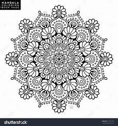 flower mandala vintage decorative elements