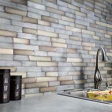 Aspect Metal Backsplash Tiles